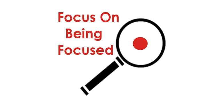 being-focused