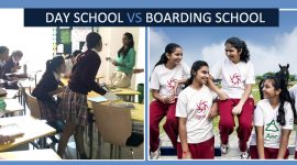 Difference between Day School and Boarding School