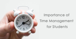 Importance of Time Management for Students