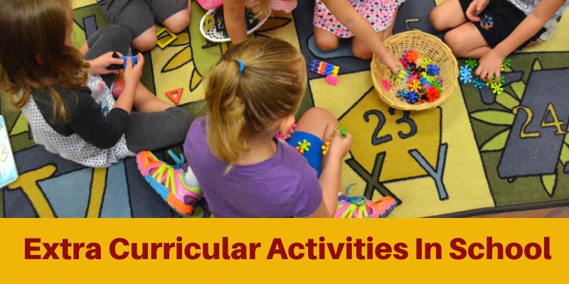 Extra Curricular activities In school