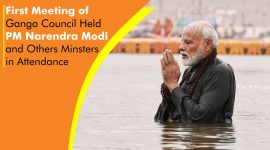 First Meeting of Ganga Council Held PM Narendra Modi and Others Minsters in Attendance