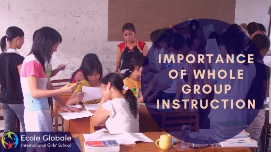 Importance of Whole Group Instruction