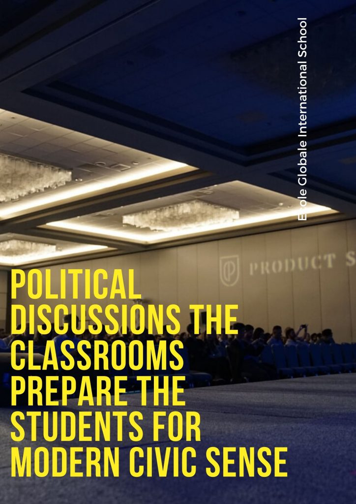 Political discussions the classrooms