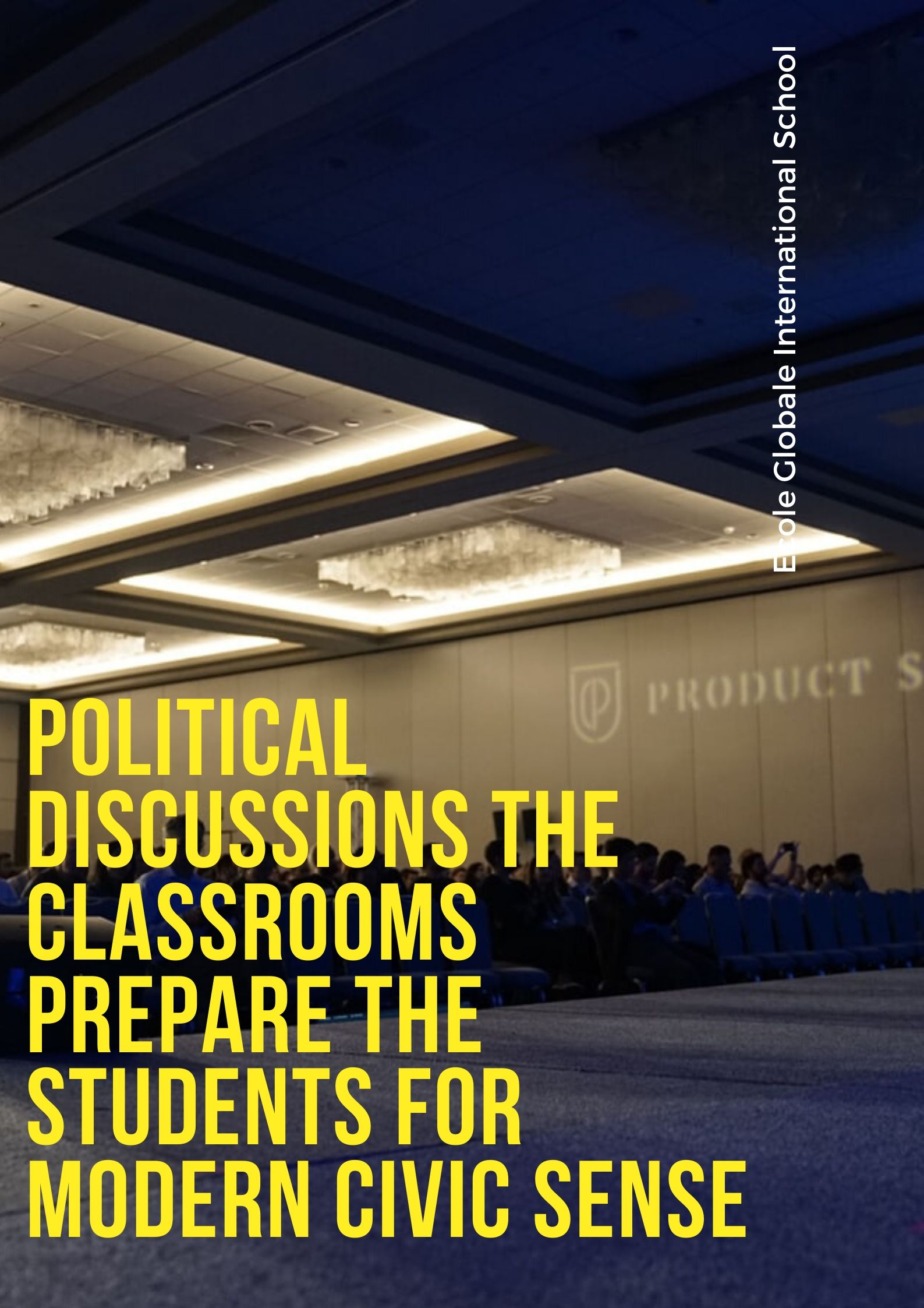 Political discussions the classrooms prepare the students for modern civic sense