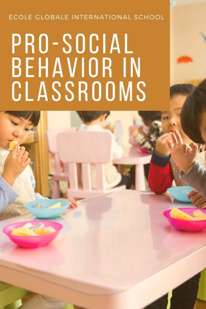 positive social behavior in classroom