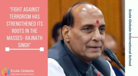 Fight against terrorism has strengthened its roots in the masses- Rajnath Singh