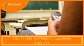 Cell Phones Disturbing Classroom Sessions