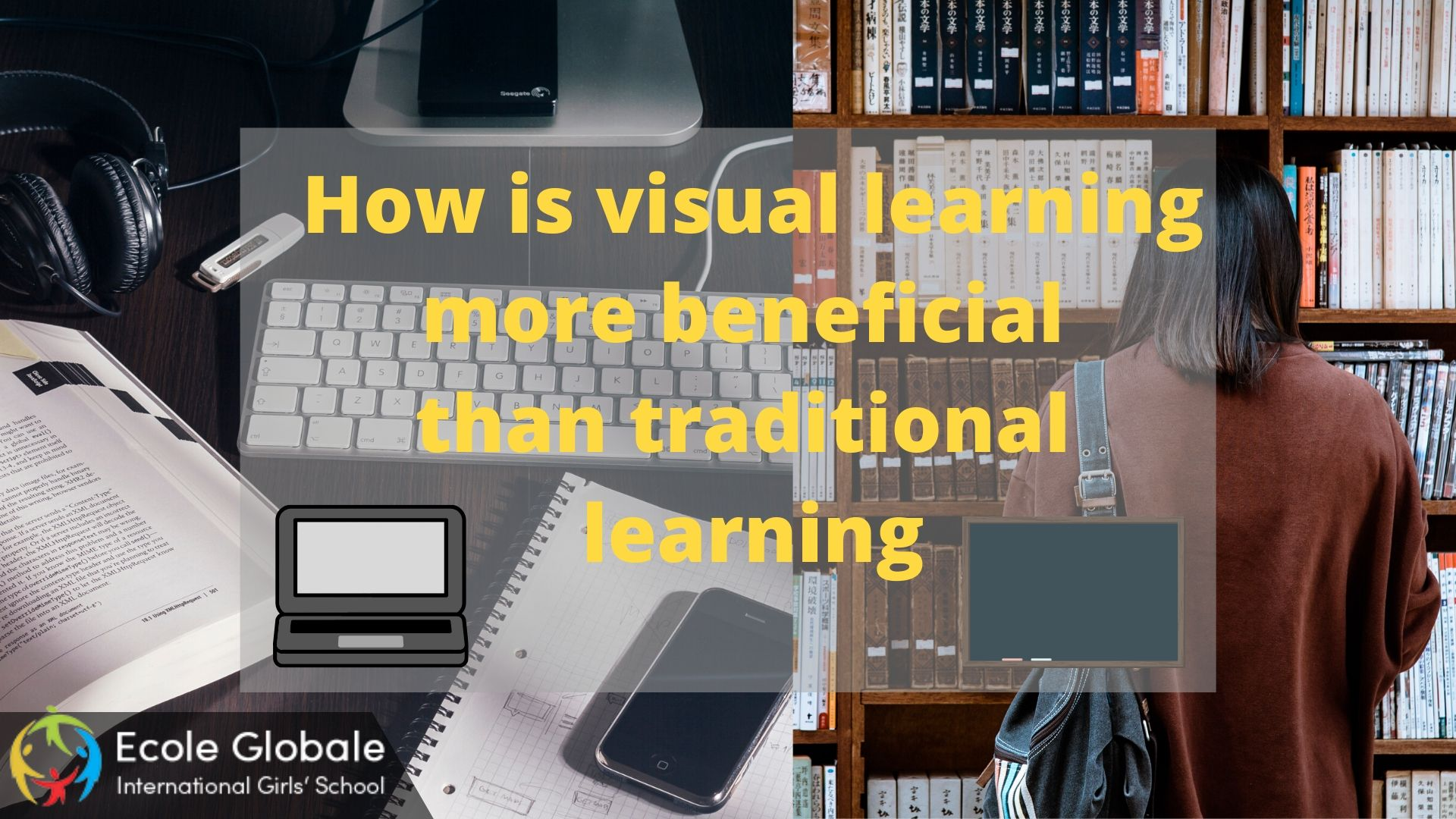 How is visual learning more beneficial than traditional learning
