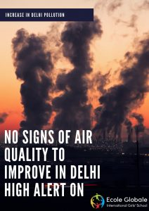 air pollution increased in Delhi