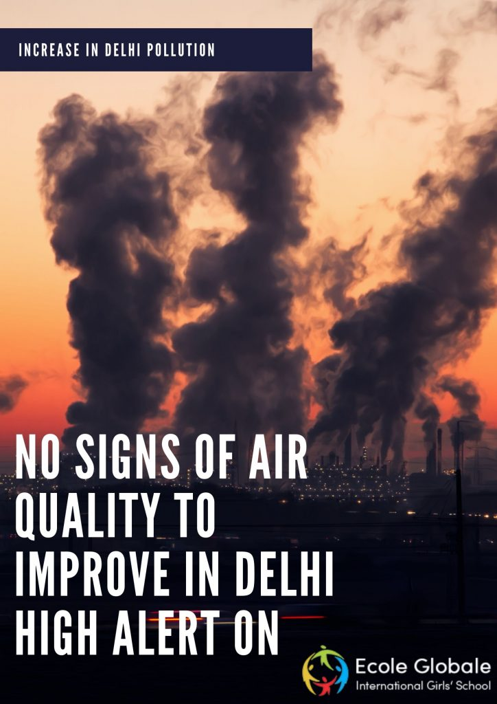 air pollution increased in Delhi