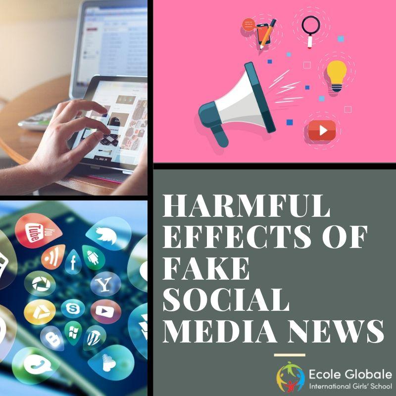 Harmful Effects of fake social media news
