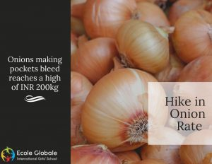 hike in onion rate