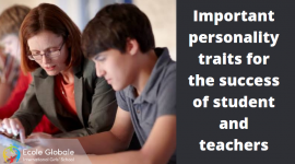 Important personality traits for the success of student and teachers