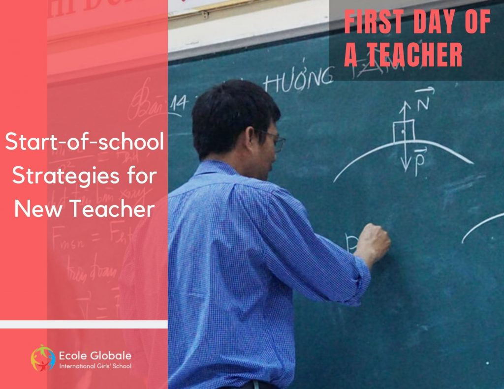 teacher first day at school