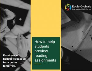 Assignment reading Tips