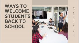 Ways to welcome students back to school