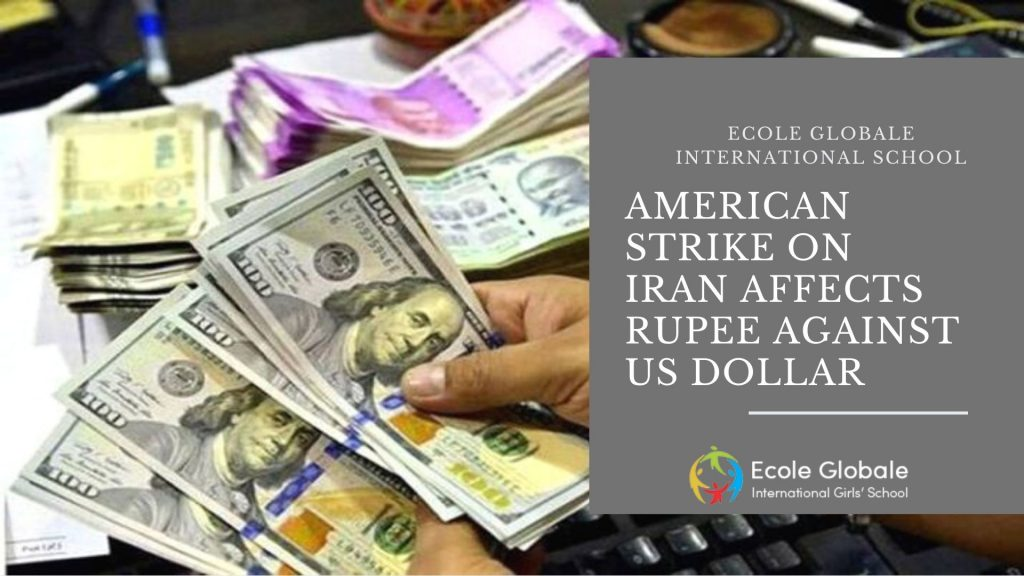 American Strike on Iran affect Rupee against US Dollar