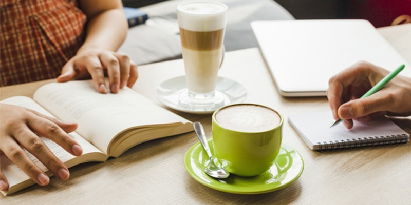 Coffee During Study