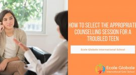 How to select the appropriate counselling session for a troubled teen
