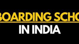 List of top boarding schools in India