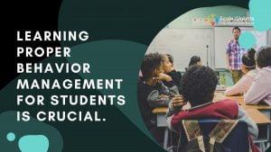 behaviour management for students