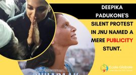 Deepika Padukone's silent protest in JNU named a mere publicity stunt