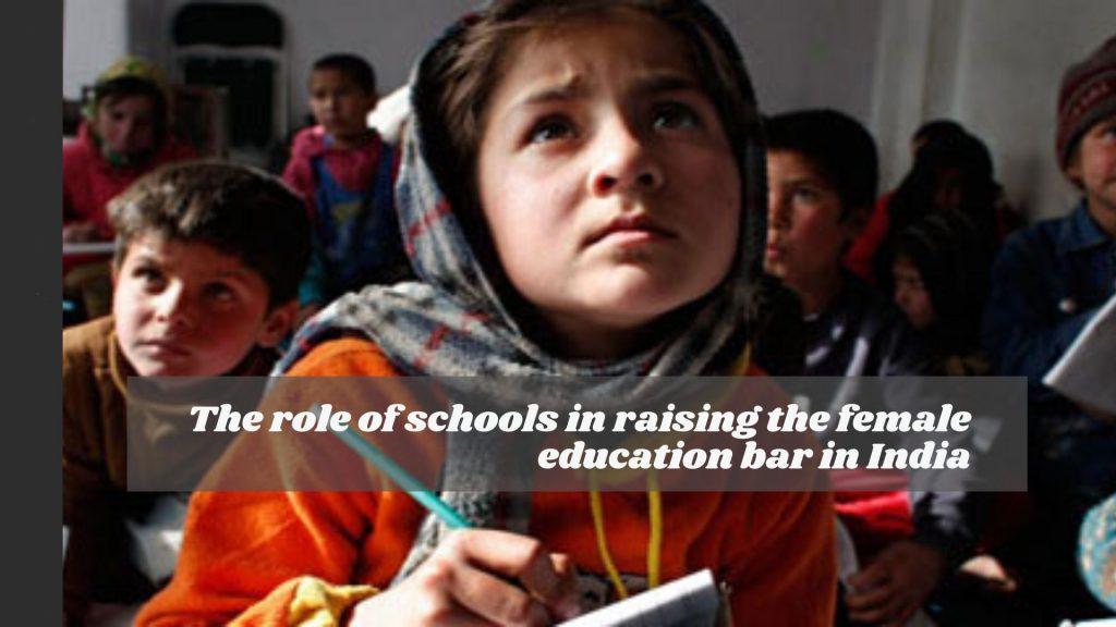 female education bar in India