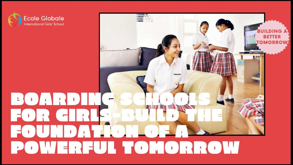 girls Building the foundation of tomorrow