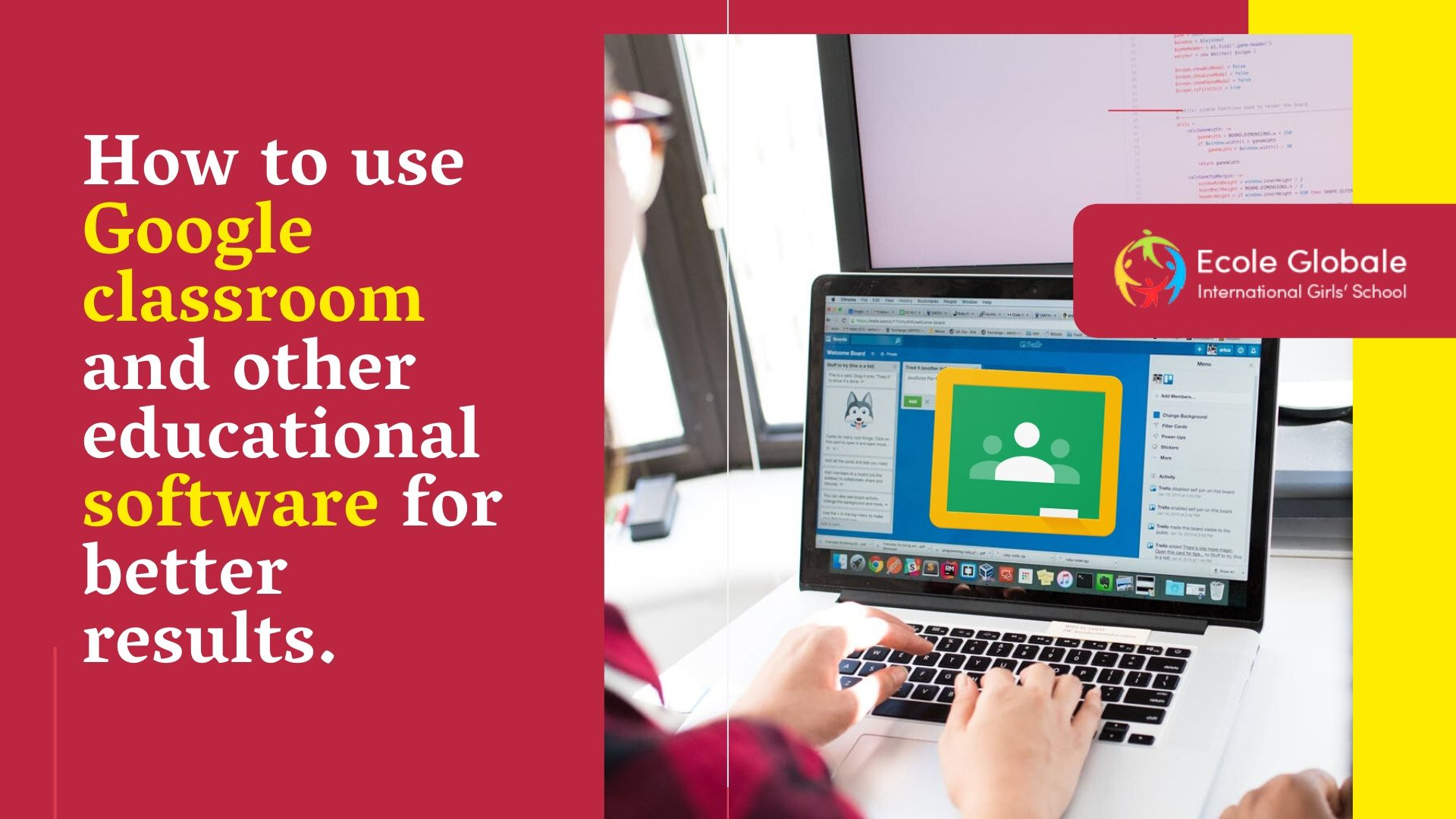 How to use Google classroom and other educational software for better results