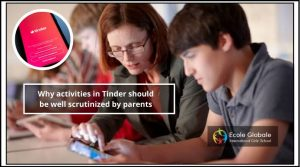 Why activities in Tinder should be well scrutinized by parents