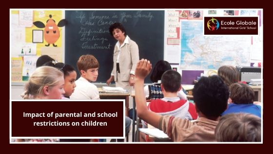Impact of parental and school restrictions on children