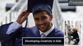 Developing creativity in children is vital