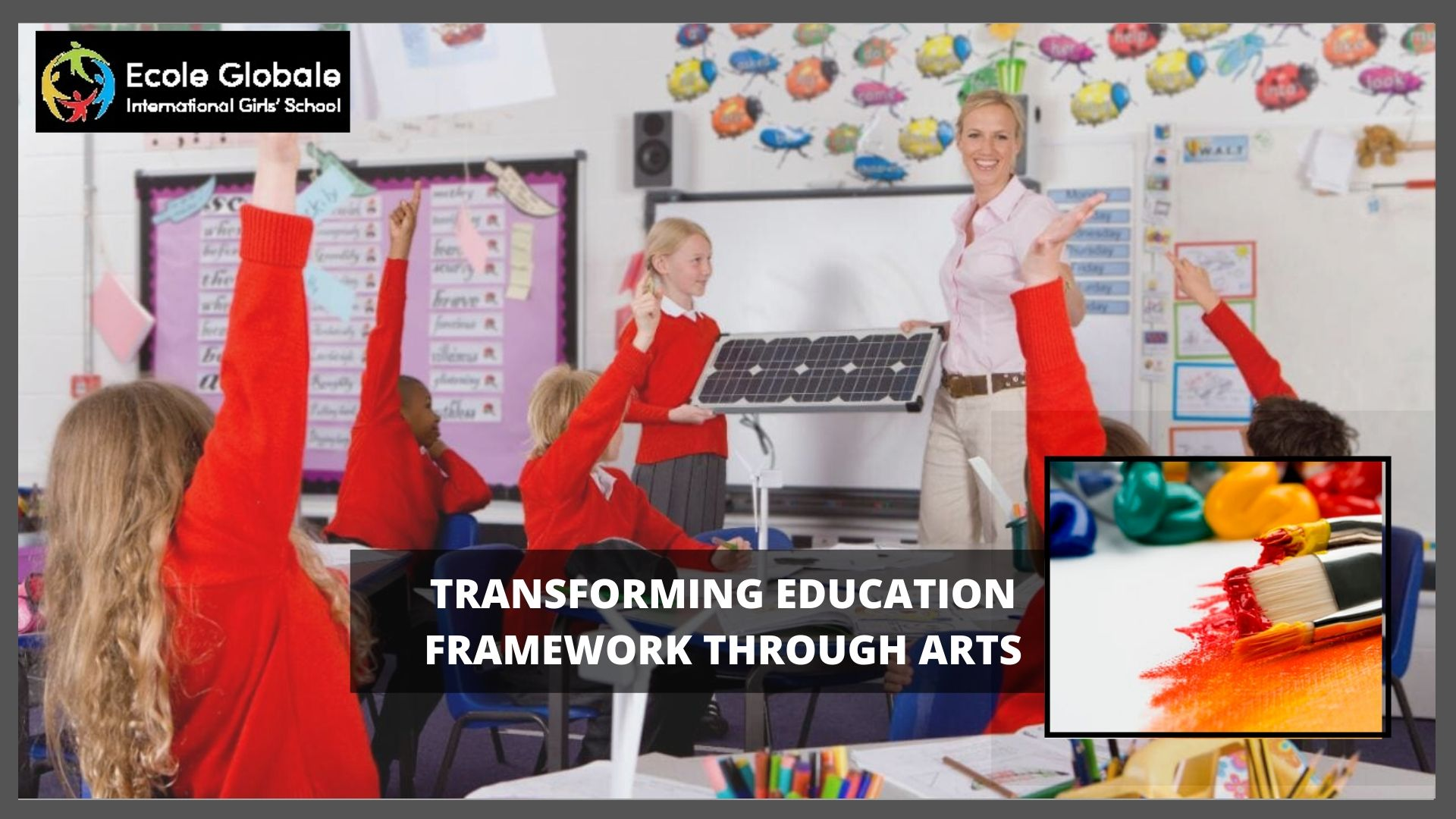 Transforming education framework through arts