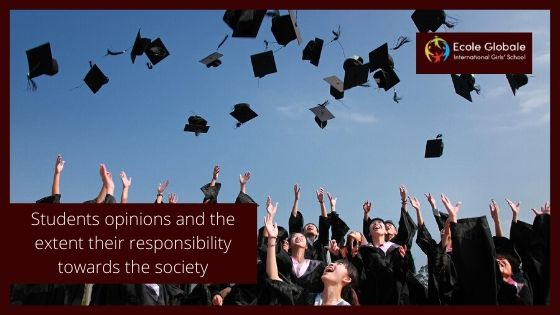 Students opinions and the extent their responsibility towards the society