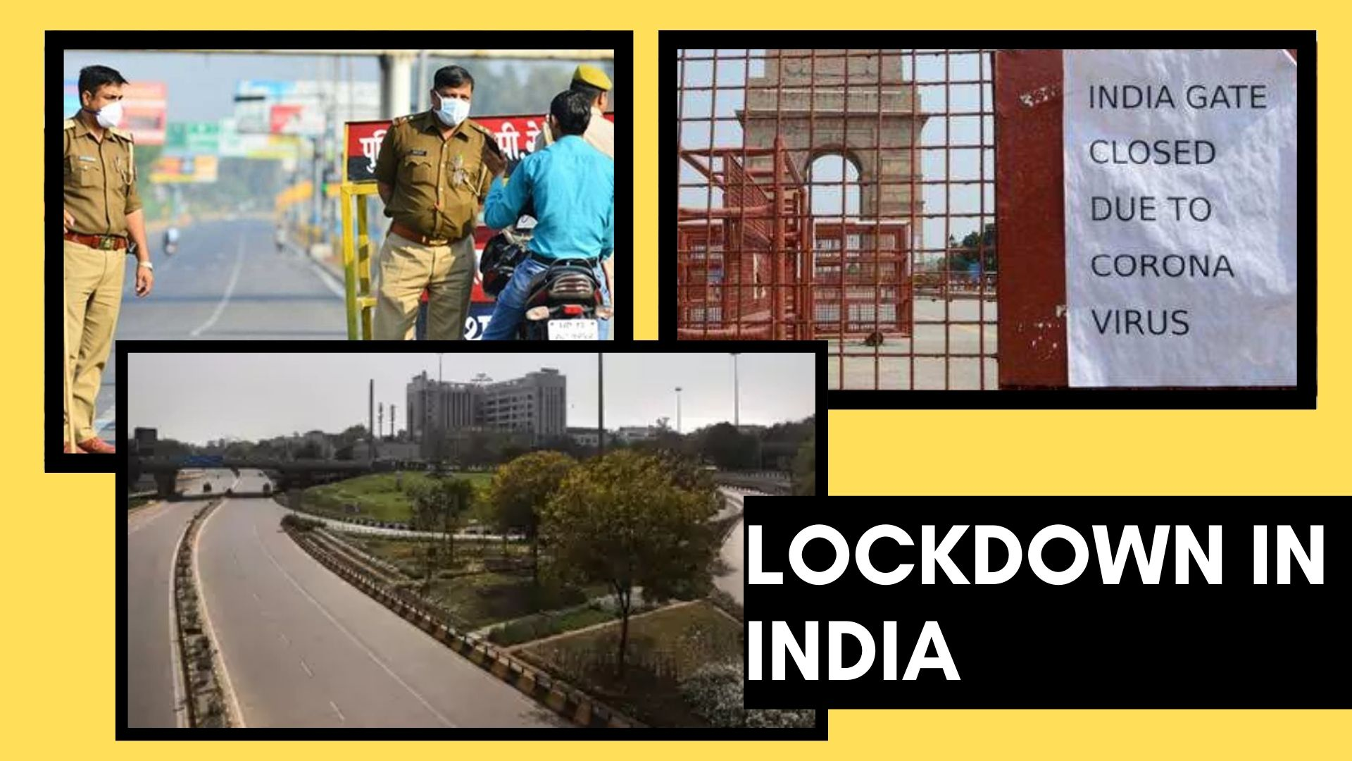80 cities in in india under lock