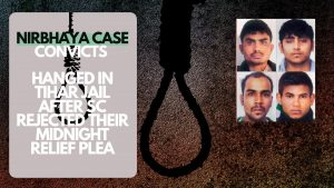 NIRBHAYA CASE CONVICTS HANGED