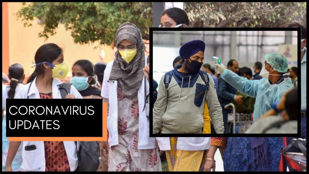 coronavirus updates for India