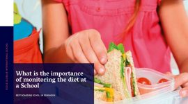 What is the importance of monitoring the diet at a School