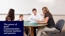 The power of good communication between teachers and parents