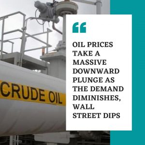 Crude Oil prices drops to Negative