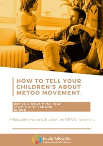 Educating young kids about the METOO movement