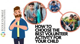 How to increase your chid's indulgement in volunteer work