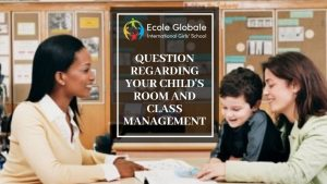Questions related to child's classroom management