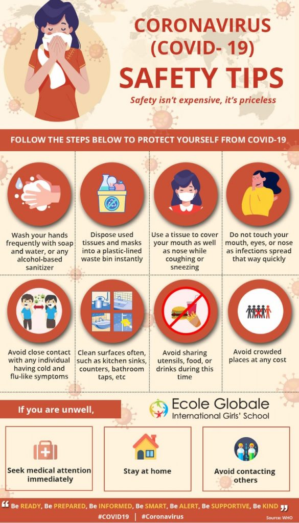 TIPS TO REMAIN SAFE DURING THE COVID