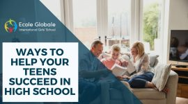 How parents can help their kids succeed in high school