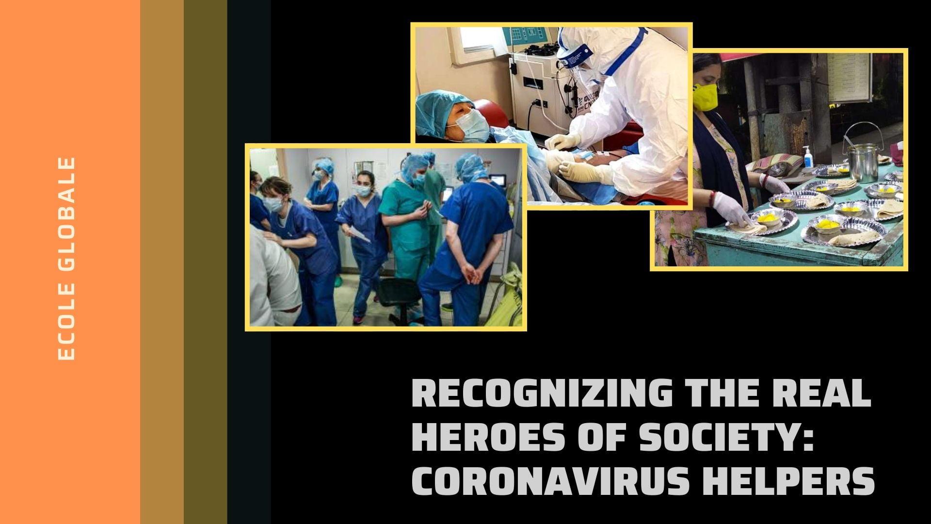 corona virus helpers