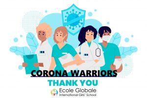 corona virus warriors