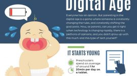 Impacts of the digital technology on parenting methods