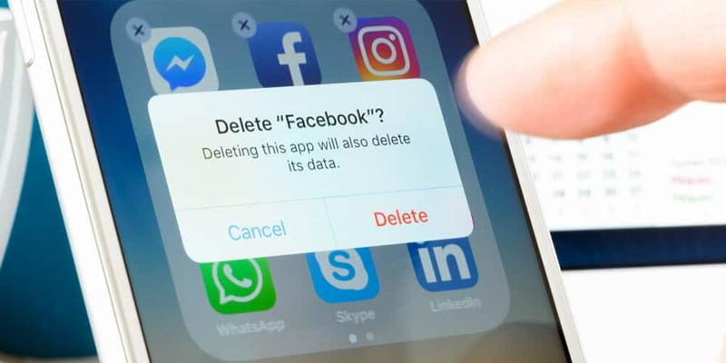 Delete Unnecessary Social Media Accounts