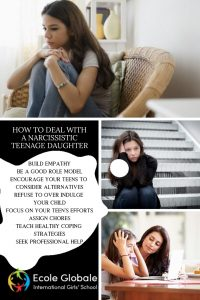 HOW TO DEAL WITH A NARCISSISTIC TEENAGE DAUGHTER
